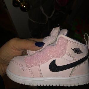Pink Jordan Sneakers